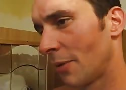 BBW French pulverizes the plumber Thumb