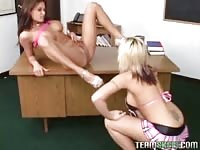 Brooke and Tori are ass-fuck  invasion lesbians Thumb