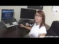 big hooters office honey listless give footjob - Mybestfetish Thumb