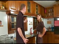 naughty spanish housewife plows in the kitchen Thumb