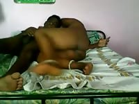 Southindian cheating Aunty with her BF-II Thumb