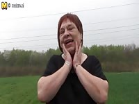 inexperienced German granny playing with old cunt Thumb