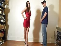 Ballbusting - crimson  Dress honey Thumb