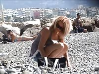 fantastic french lady topless french riviera Thumb