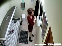 big knockers teen in Solarium Thumb