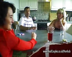 Mature swinging amateurs swap wives Thumb