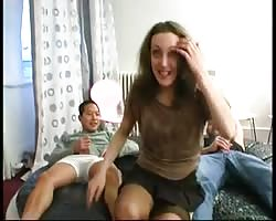 He is watching his wife fucked by 2 dudes Thumb