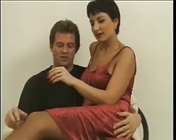 Short haired Hungarian Claudia does anal Thumb