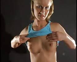 Leah Wilde choking for cum Thumb