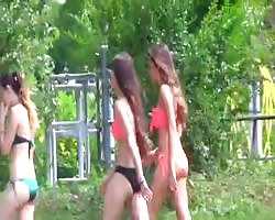 impartial - Group Of teenage  In swimsuit  donk titties body Thumb