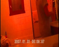 Hidden cam - faded in bathroom Thumb