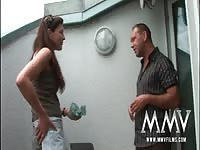 MMV Films German venerable housewife gets nailed outdoor Thumb