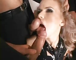 BDSM fuckslut silenced and gets double penetration Thumb
