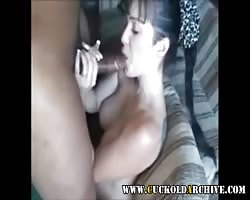 hookup starved cuckold wifey  taking murky monster in her bootie Thumb
