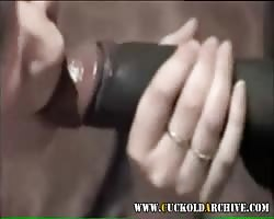 White cuckold mummy  gargling  and railing  gloomy bulls large stiffy Thumb