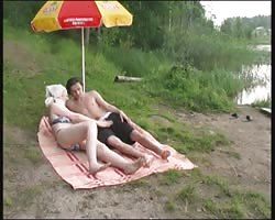 Russian mature Mom and her boyfriend on the mood! amateur! Thumb