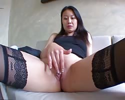 oriental dame for behaved orgasm! Son premier porno wearisome! French amat Thumb