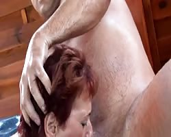 huge-titted Shorthair-MILF pulverized in Pool Thumb