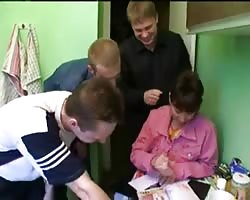 Russian used mom homemade gangbang Thumb