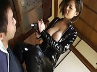 Latex chinese lady with big knockers Thumb