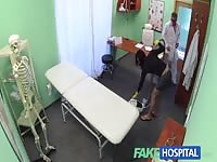 FakeHospital - beautiful cleaning lady gets broken Thumb