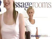 rubdown monotonous Rooms innocent youthful teen's tight assets lifeless examined by rotten blon Thumb