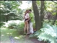 Dogging in woods Thumb