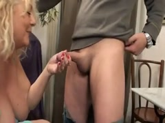 Kate 55 years old loves cucumber in ass Thumb