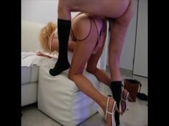 Granny Fucking Her Ass and Blowjob Thumb