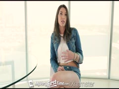MyVeryFirstTime - Gia Love endures pain of her first anal Thumb