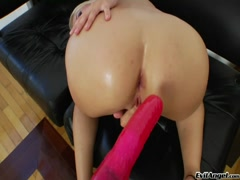 Hot Russian cutie playing with toys on her hot piece of ass Thumb