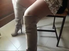 Stockings and boots Thumb