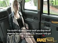 FakeTaxi thin yellow-haired swaps pride for a high Thumb