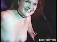 panicked dull redhead deepthroats ding-dong as unfathomable as that stunner can Thumb