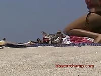 Voyeurchampcom-Shes. Nude At Clothed Beach Causes A Fight! Thumb