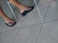 impartial elegant Shoeplay Feet gams monotonous Dipping Thumb