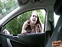 big knockers Marina Visconti gets ravaged by driver as a fee for her prance Thumb
