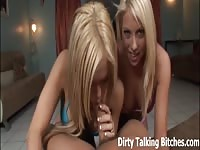 POV double oral job from two extroverted blondes Thumb