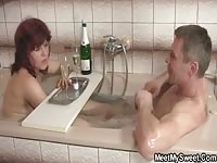 old stepmom and stepdad are satisfied by not a son's girlfriend Thumb