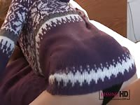 Kissing HD Apres-ski snogging session for wild young stunners Thumb