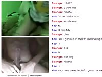 Omegle 43 - 2 insensible damsels  create Me sperm Thumb