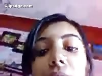 beautiful Gujju college woman exposing herself and making movie dumb for her boyfriend Thumb