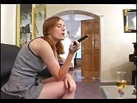 Freckled Redhead baby sitter uninteresting Allison plumbed Thumb