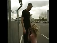 Swedish Gold lock own hook-up  in public Thumb