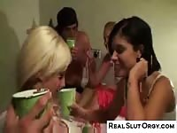 genuine fuckslut Orgy - real teenage  Party video Thumb