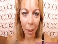 crazy milf knows how to titfuck Thumb