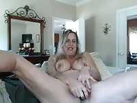 super hot granny with unfounded knob Thumb