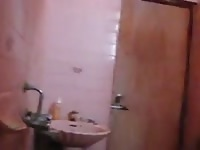self recorded mms movie  of super hot indian college damsel taking shower Thumb