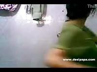 indian college honey tedious tanya in self shot homemade shower movie  with bigtits Thumb