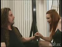 packing monotonous up her redhead donk and spanking Thumb